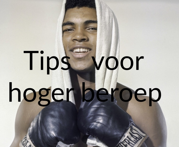 tips hoger beroep